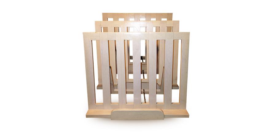 houten inklapbare boekenstandaard Label25