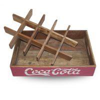 stapelbaar coca cola kratje sloophout Label25
