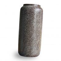 bruine spikkel vaas Label25
