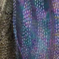 zijden sjaal 1 detail Label25