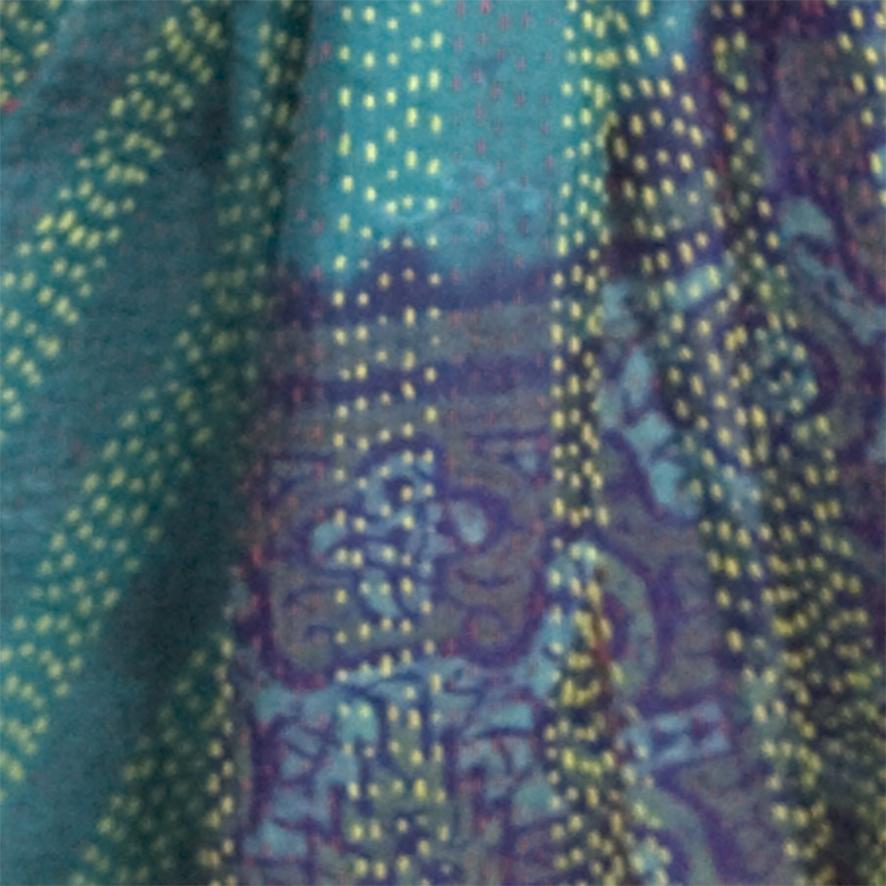 zijden sjaal detail Label25