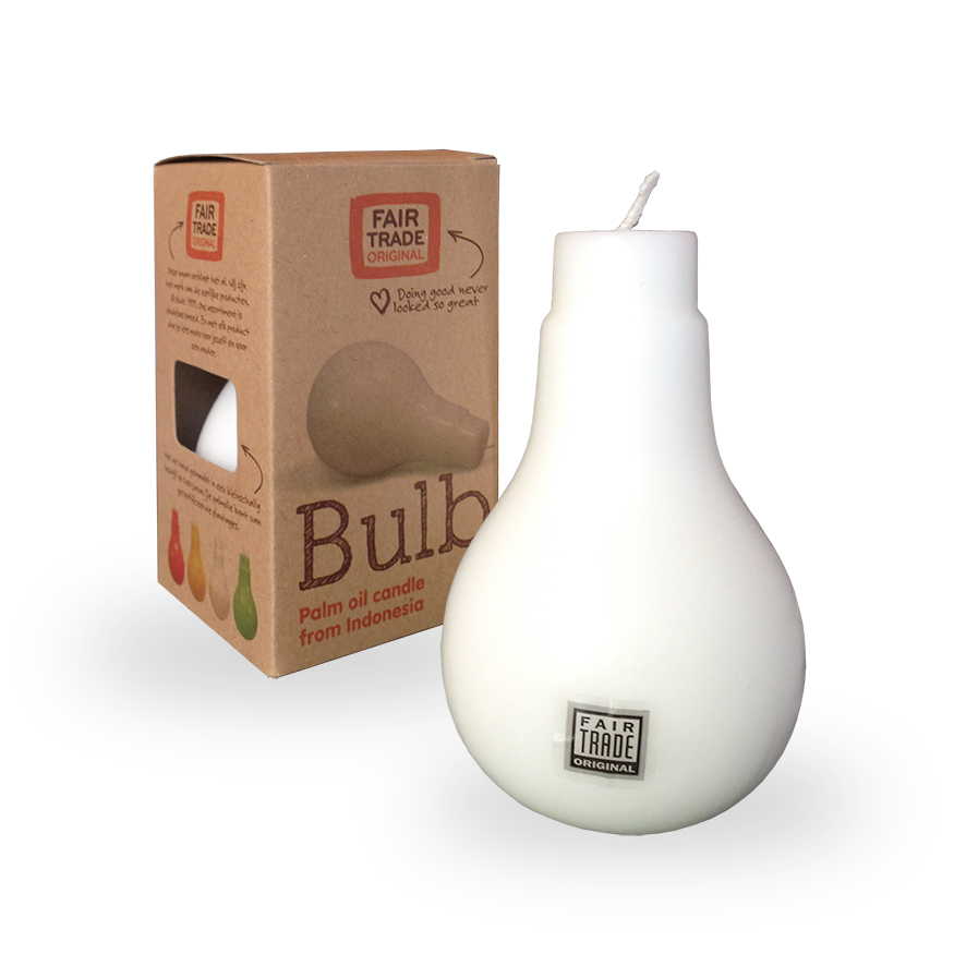 bulb kaars Label25