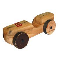 houten race auto van sloophout Label25