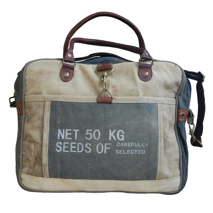 canvas tas 50 kilo Label25