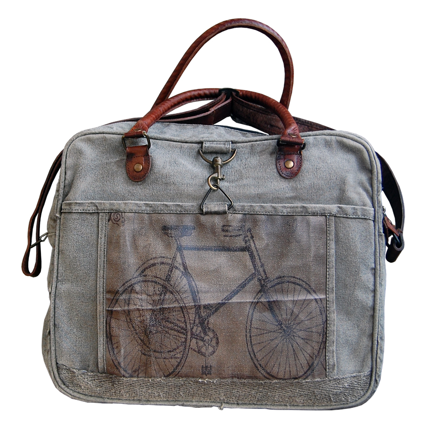 canvas tas fiets Label25