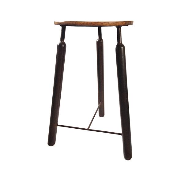 hoge design kruk / bijzet tafeltje - Label25