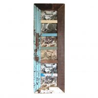 sloophouten fotolijst voor vijf foto's Label25