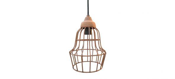metalen hanglamp oud roest label25