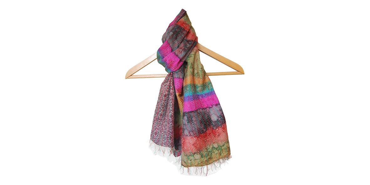 zijden sari sjaal Label25