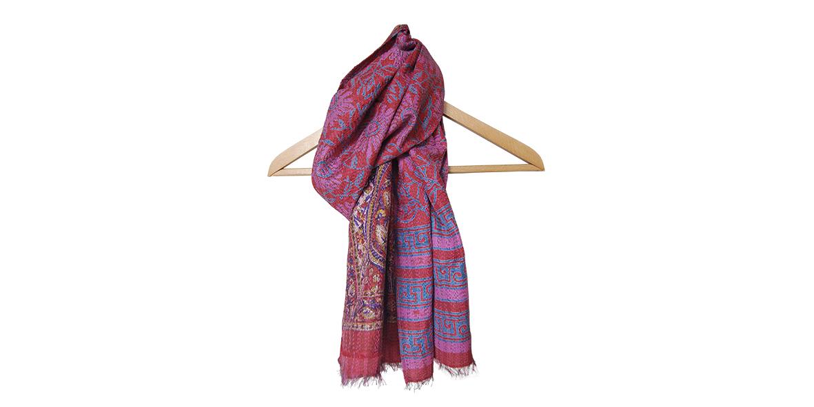 zijden sjaal van sari's Label25