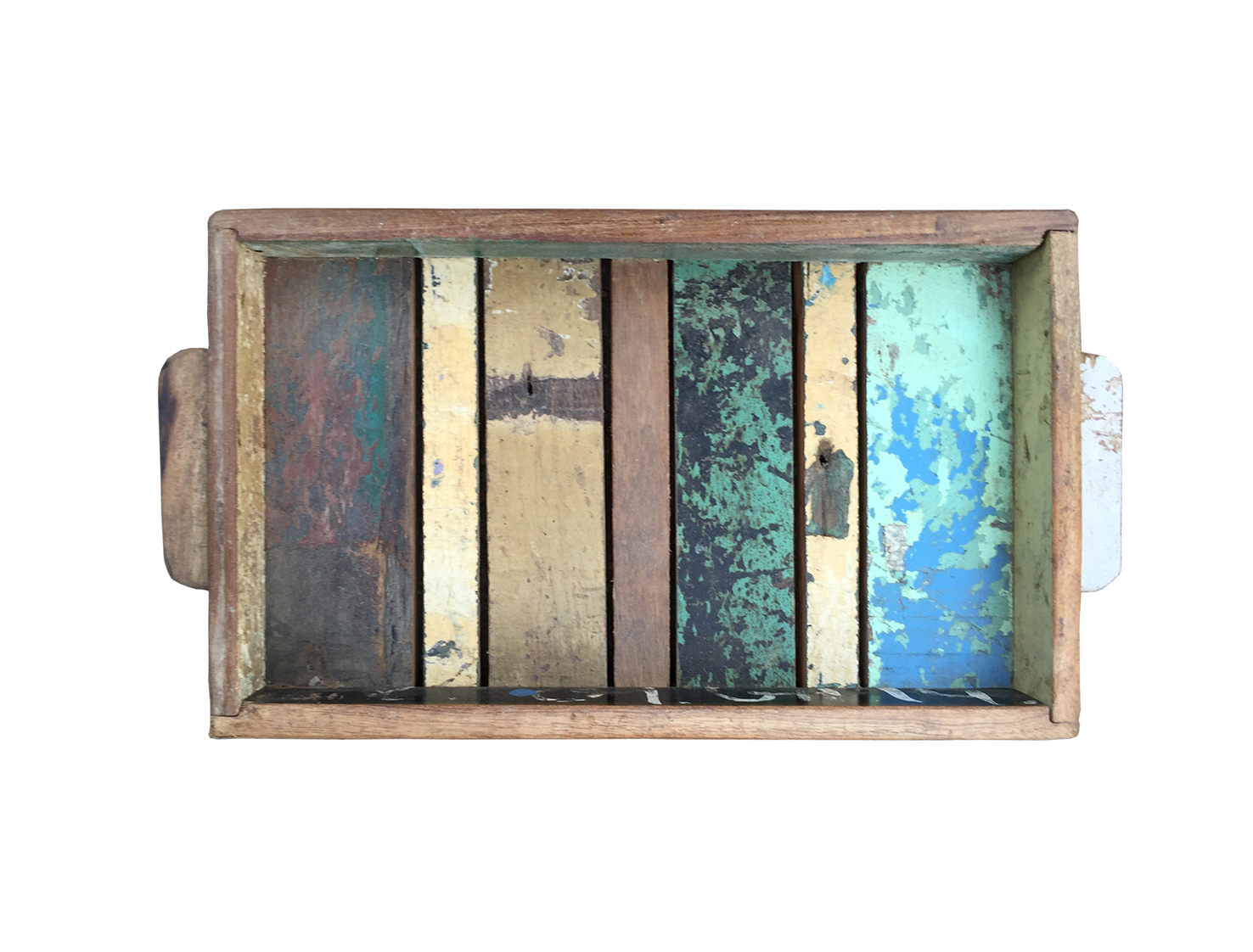 sloophouten dienblad rechthoekig - Label25