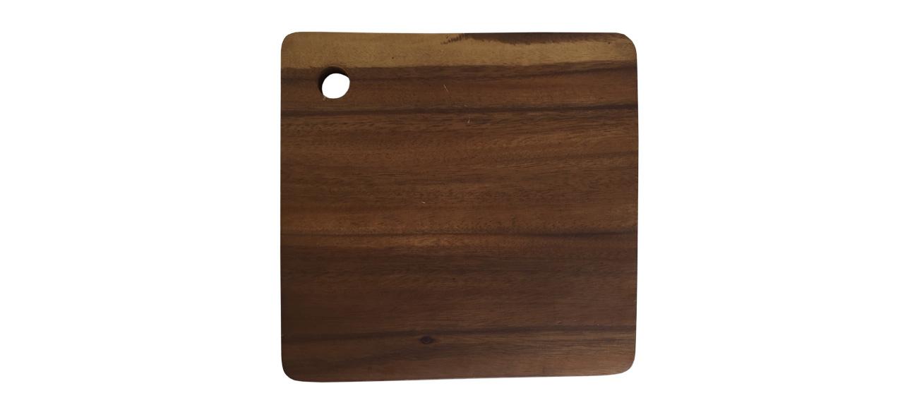 snijplank van acacia hout label25