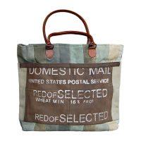 canvas shopper domestic mail - Label25